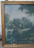 Вид в Павловском парке Репродукция на ткани, фото №7