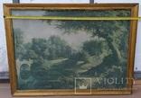 Вид в Павловском парке Репродукция на ткани, фото №9