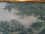 Вид в Павловском парке Репродукция на ткани, фото №13