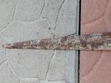 Сарматский меч с орнаментом 74,3см, фото №4