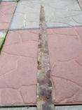 Сарматский меч с орнаментом 74,3см, фото №11