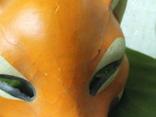 Новогодняя маска,ЛИСИЧКА,папье-маше СССР., фото №11