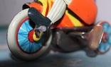 Заводная игрушка из жести - Мальчик на велосипеде, фото №10