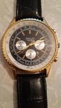 Наручные эл-мех.часы''BREITLING'' с ремнём. (имитация), фото №2