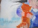 Картина «Рыжий котёнок». Художник Ellen ORRO. Холст на картоне/акрил. 20х30, 2018 г., фото №7