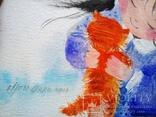 Картина «Рыжий котёнок». Художник Ellen ORRO. Холст на картоне/акрил. 20х30, 2018 г., фото №8