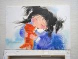 Картина «Рыжий котёнок». Художник Ellen ORRO. Холст на картоне/акрил. 20х30, 2018 г., фото №9