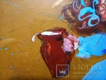 Картина «Завтрак котёнку». Художник Ellen ORRO. двп/акрил. 30х21,2011 г., фото №5