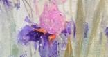 Картина «Ирисы». Художник Ellen ORRO. Холст/акрил, 30х40, 2019 г., фото №12