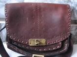 Ягдташ.сумка охотника.кожа.ручная работа(1), фото №3