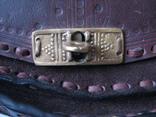Ягдташ.сумка охотника.кожа.ручная работа(1), фото №4
