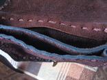 Ягдташ.сумка охотника.кожа.ручная работа(1), фото №8