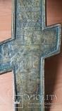 Крест 34 см две эмали, фото №8