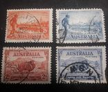Марки Австралии 1934 года, фото №2