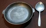 Чугунная сковорода.Ложка.СССР., фото №2