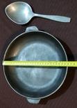 Чугунная сковорода.Ложка.СССР., фото №3