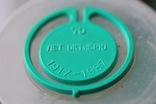 Скріпка канцелярська пластикова з надписом до 70-ліття Жовтня (1917-87), фото №3