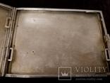Портсигар, серебро 835 проба до 1915 года, фото №7