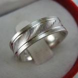 Серебряное Кольцо с Алмазной Гранью Бесконечность 925 проба Размер 18.25 Серебро 803
