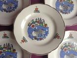 Тарелки закусочные Царевна-лебедь. Фарфор, Коростень., фото №4