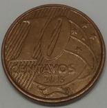Бразилія 10 сентаво, 2003