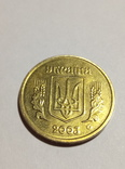 1 гривна 2003 в штемпельном блеске, фото №3