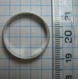 Серебряное Кольцо с Молитвой Спаси и Сохрани 925 проба Размер 19 Серебро 268 фото 3