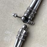 Старое серебряное украшение 113 грамм, фото №7