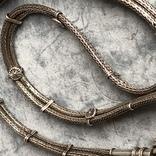 Старое серебряное украшение 113 грамм, фото №9