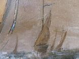 Картина Маслом MULERO _ Флот під час Шторму фото 11