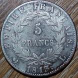 Франция 5 франков 1813 г., фото №3