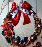 Різдвяний вінок, фото №2