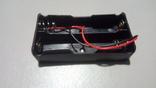 Холдер для двух аккумуляторов 18650, фото №2