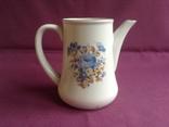 Кувшин Цветы синие. Фарфор, Довбыш. 1953 - 1957 гг., фото №3