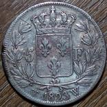 Франция 5 франков 1823 г., фото №2