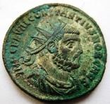 Биллоновый антониниан Constantius I Chlorus 302-303 г. н.э. - мондвор Антиохия., фото №2