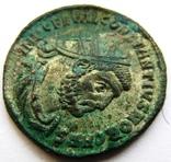Биллоновый антониниан Constantius I Chlorus 302-303 г. н.э. - мондвор Антиохия., фото №4