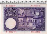 25 песет 1954 год. Испания., фото №3