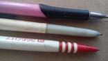 Ручки шариковые   3шт .  разные, фото №3