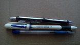 Шариковые ручки  3 шт.  Разные, фото №2