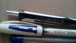 Шариковые ручки  3 шт.  Разные, фото №3