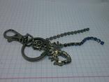 Брелок Скорпион. Стразы, фото №4