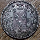 Франция 5 франков 1828 г., фото №2
