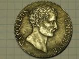 Наполеон AN12 5 франков копия, фото №3