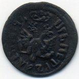 Полушка 1707 года, фото №3