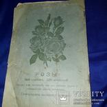 1909 Каталог деревьев Минск 25х17 см., фото №6