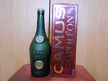 Бутылка и коробка от коньяка Наполеон,оригинал., фото №2