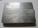 Портсигар.серебро,121,77 гр., фото №2