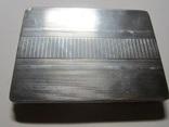 Портсигар.серебро,121,77 гр., фото №3