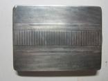 Портсигар.серебро,121,77 гр., фото №4